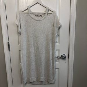Athleta Short-sleeve Dress with cutout shoulder.